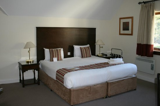 Mercure Telford Madeley Court Hotel: Our standard twin room