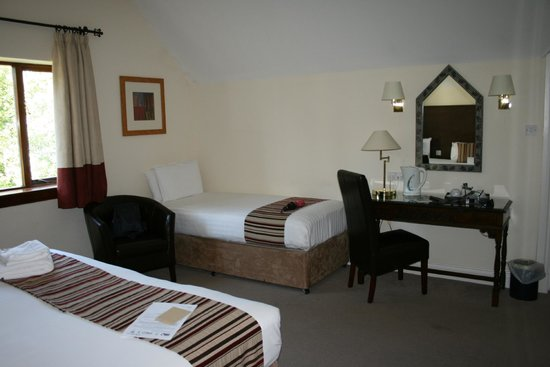 Mercure Telford Madeley Court Hotel: Our snandard twin room
