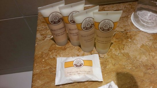 Pullman Paris La Defense: Products from Roger&Gallet