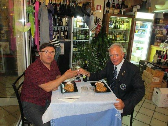 Terrae Maris : amitie avec risotto a la marinaia