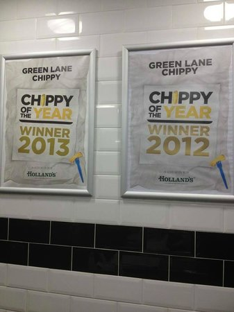 Green Lane Fish and Chip Restaurant: chippy of the year for North West 2012 and 2013