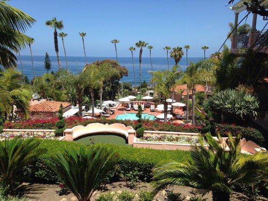 La Valencia Hotel: View from the terrace