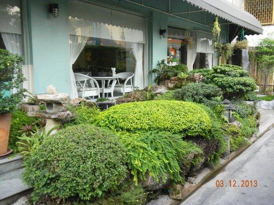 Tanatawey Places : Вид у входа в отель