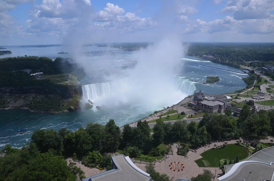 Fallsview Casino Resort: La vista sulle cascate dalla camera