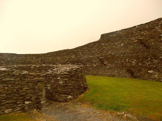 Cahergall Fort: Vestiges