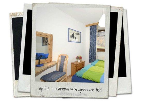 FeWos Flussperle Sölden, Wohnung 4, Schlafzimmer - bedroom - Bild ...