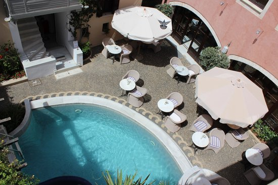 Rimondi Boutique Hotel : BREAKFAST COURTYARD