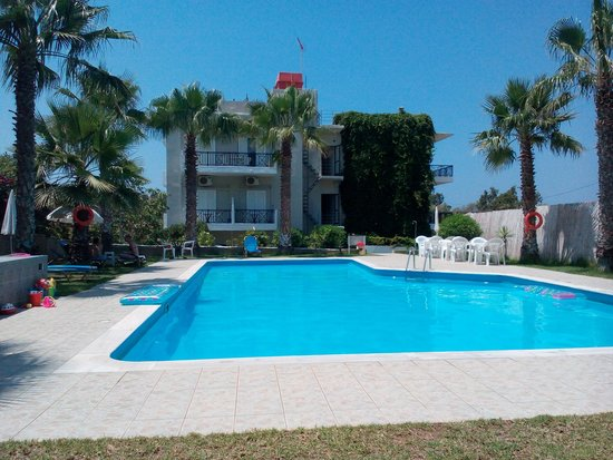 Sea View Hotel and Apartments: zona relax