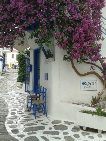 Margi House Apartments: Skiathos stad