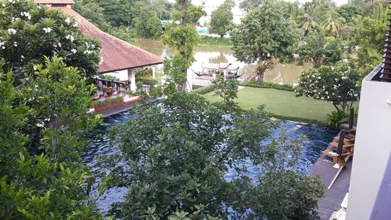 Ratilanna Riverside Spa Resort Chiang Mai: View from our suite