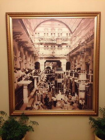GUM Department Store (Glavny Universalny Magazin) : Foto histórica na entrada do banheiro