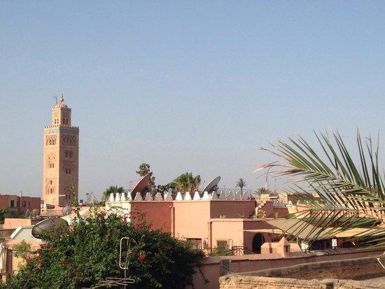 Riad Alamir : Vue depuis le riad
