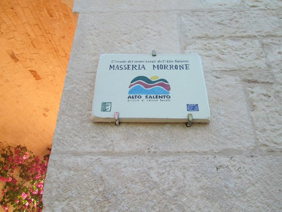Masseria Morrone: entrata