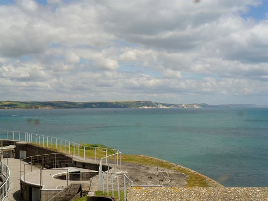 Nothe Fort: Views
