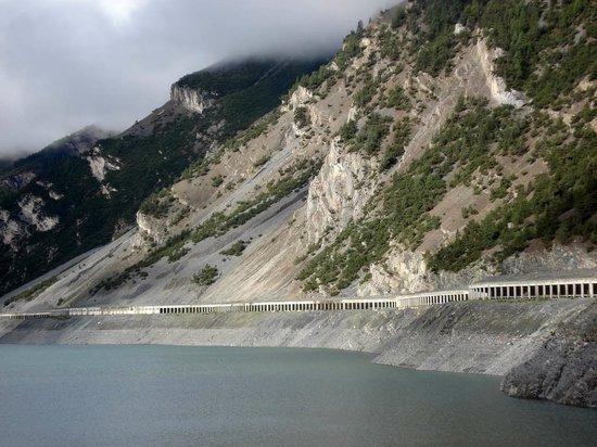 Munt-la-Schera-Tunnel : Gallerietunnel auf der italienischen Seite