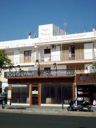 S'Amfora Restaurant, Aludia.Majorca