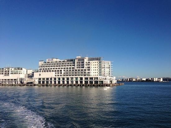 Hilton Auckland: View from the ferry