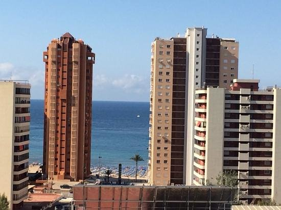 Flash Hotel Benidorm: view from the balcony
