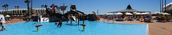 Iberostar Royal Andalus: La nueva zona de piscina para niños espectacular. Gracias a los socorristas Belén, Arturo y Anto