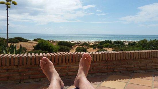 Iberostar Royal Andalus: Vistas desde la tumbona de la piscina.