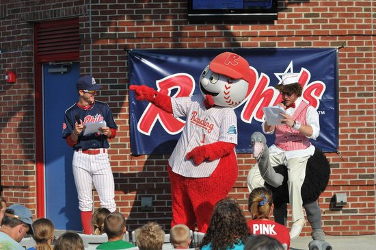 Reading Fightin Phils, FirstEnergy Stadium: TAKE ME OUT TO THE BALL GAME