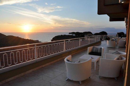 San Montano Resort & SPA : Blick von der Cocktailterrasse