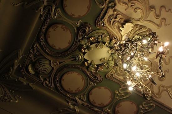 Gastronomia Eliseevsky: Detalhe do teto