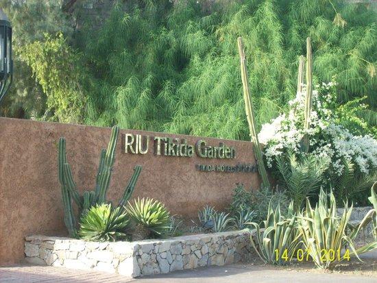 Hotel Riu Tikida Garden: Enterance