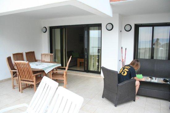 Apartamentos Fuerte Calaceite : terrace 1