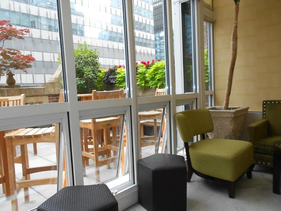 Library Hotel by Library Hotel Collection: the outside terrace