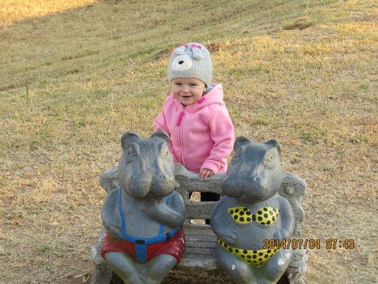 Kruger Park Lodge: 3 little pigs