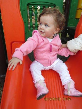 Kruger Park Lodge: fun on the slide
