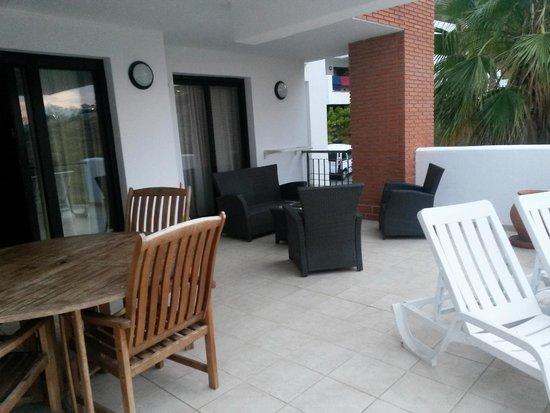 Apartamentos Fuerte Calaceite : terrace 2