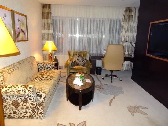 InterContinental Hotel Dalian: Гостиная (Suite)