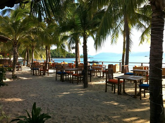 Samui Palm Beach Resort & Hotel: vista facendo colazione