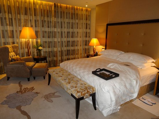 InterContinental Hotel Dalian: Спальная (Suite)