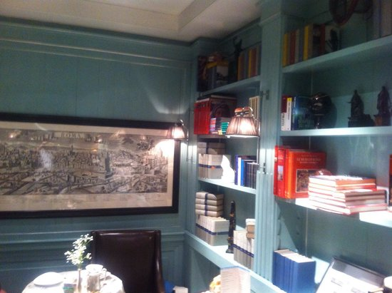 Hotel Stendhal: Eating room