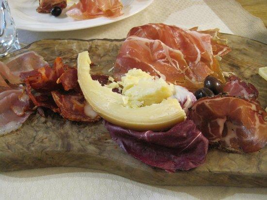 Ristorante Svevia : Half Eaten Antipasta Platter