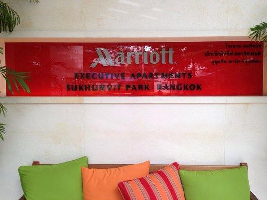 Sukhumvit Park, Bangkok - Marriott Executive Apartments: 玄関!^_^