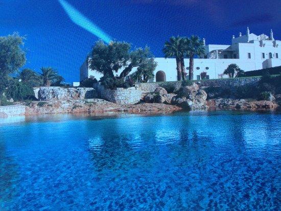 Masseria San Domenico: vista dalla piscina