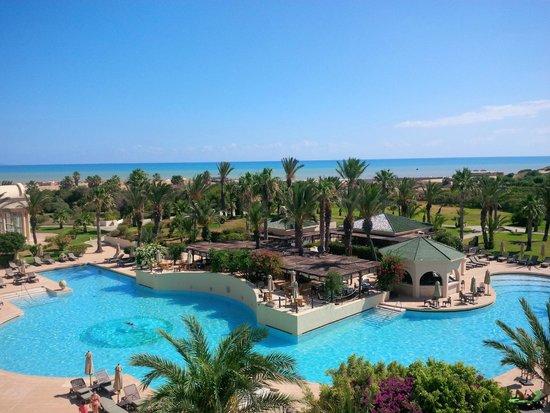 The Residence Tunis : vue de la chambre
