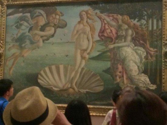 Galería de los Uffizi: 今までは撮れなかった写真