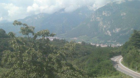 Villa Madruzzo : Vista dal giardino