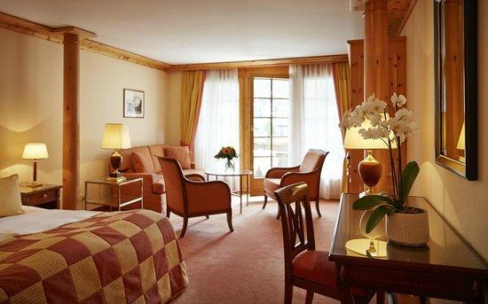Grand Hotel Zermatterhof: Junior Suite