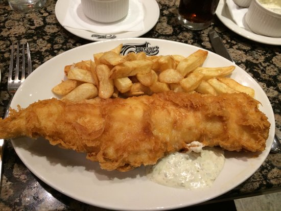 Trenchers: Haddock and chips