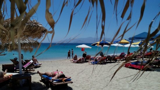 Agios Prokopios Beach : plage et mer