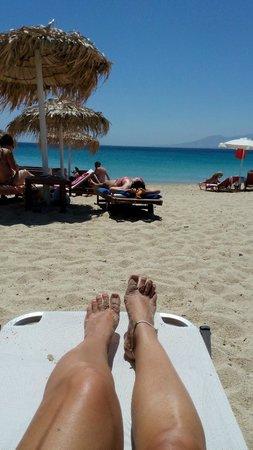 Agios Prokopios Beach : plage