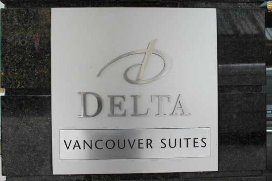 Delta Hotels by Marriott Vancouver Downtown Suites: Delta Sign