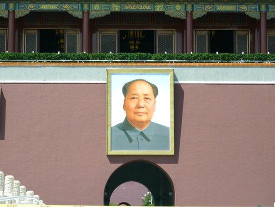 Gate of Heavenly Peace (Tian'an Men): il ritratto di Mao