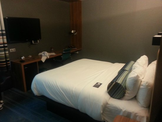 Aloft Brussels Schuman Hotel: Double room
